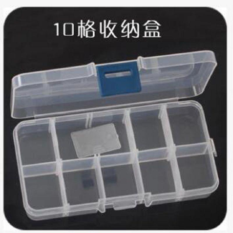 10 cellás tároló doboz ékszerdoboz cajas organizadoras rendező - Szervezés és tárolás - Fénykép 2