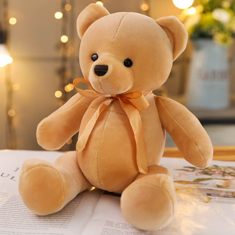 Korean Popular Butterfly Knot Joint Bear Doll, Little Bear, Girl Bear, Heart Boy, Valentine's Day Gift