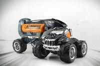 Escala 1:10 2.4G 4WD Alta Velocidade Fora de Estrada carro De Controle Remoto RC XQTJ10-1 stunt car toy crianças melhor brinquedo de presente modelo de carro de controle de rádio