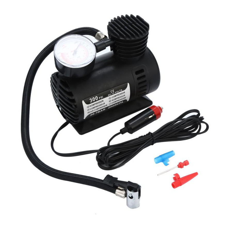 Skoda Octavia 12v Digital Air Compressor 250psi Car Van Tyre Inflator Tyres & Rims