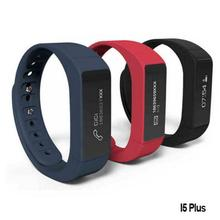 Iwown i5 Plus Smart Watch IP65 BT4.0 0.91 Inch OLED TPU Band Multifuctioal Intelligent Bracelet For IOS / Android Smartphone