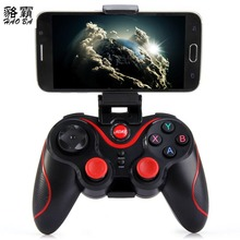 HAOBA Phone Game Controller T3 Wireless Bluetooth 3.0 Gamepad Gaming Great Hand Feeling For Android Smartphone