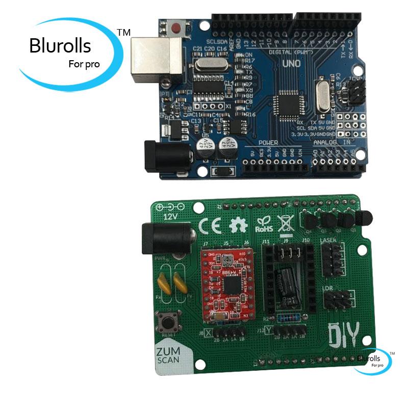 A4988 driver DIY accesso Ciclop driver 3d printer scanner UNO R3 motherboard