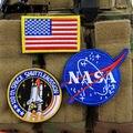 """TSNK Entusiastas """"NASA"""" Moral Táctico Ejército Parche Insignia Brazalete"""