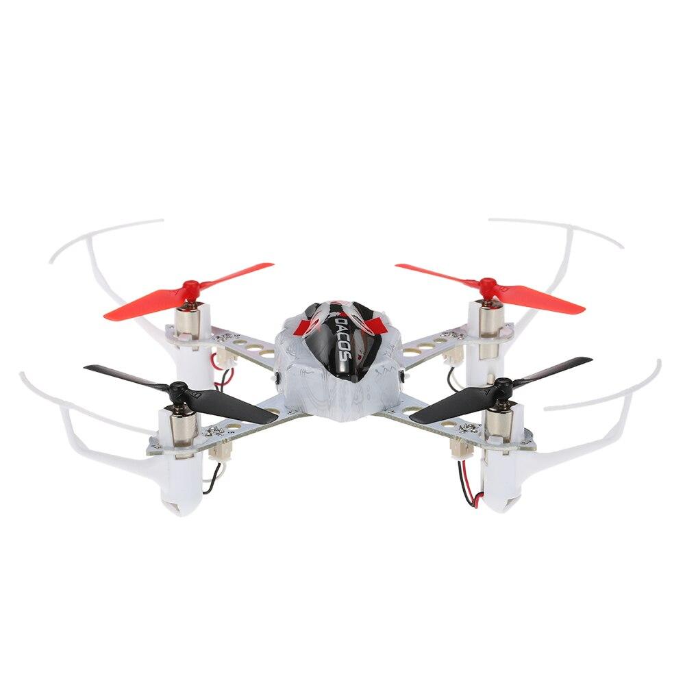 Original-x100 GESCHICKLICHKEIT 2,4G 3D 6G Modus Indoor Drone RC Quadcopter Unterstützung FUTABA S-FHSS mit Rückenflug BNF