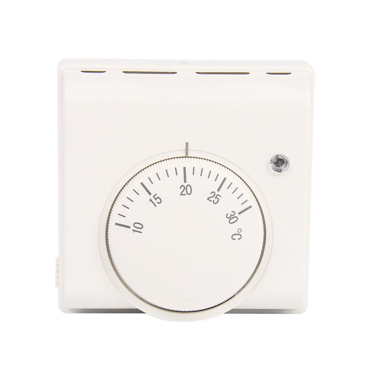 Mechanical 6A 220V Room Wall Thermostat Temperature