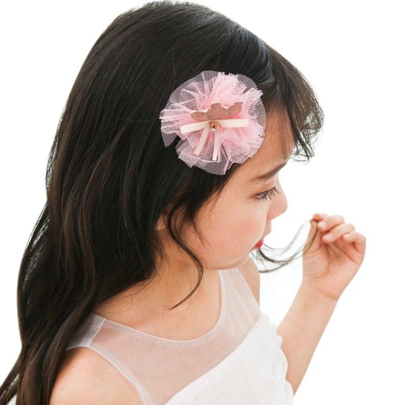 18PCS/Set New Children Hair Accessories Set Baby Bows Hairbands Girls Elastic Hair Clip Box Child Cute Lady jewelry Headdress