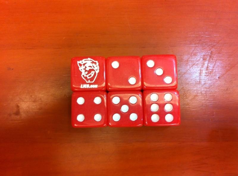 โลโก้มุม 16 มม. ลูกเต๋า a boson (ส่งออก) หมายเลข 16 ลูกเต๋าลูกเต๋า 16 # หัวแกะสลัก