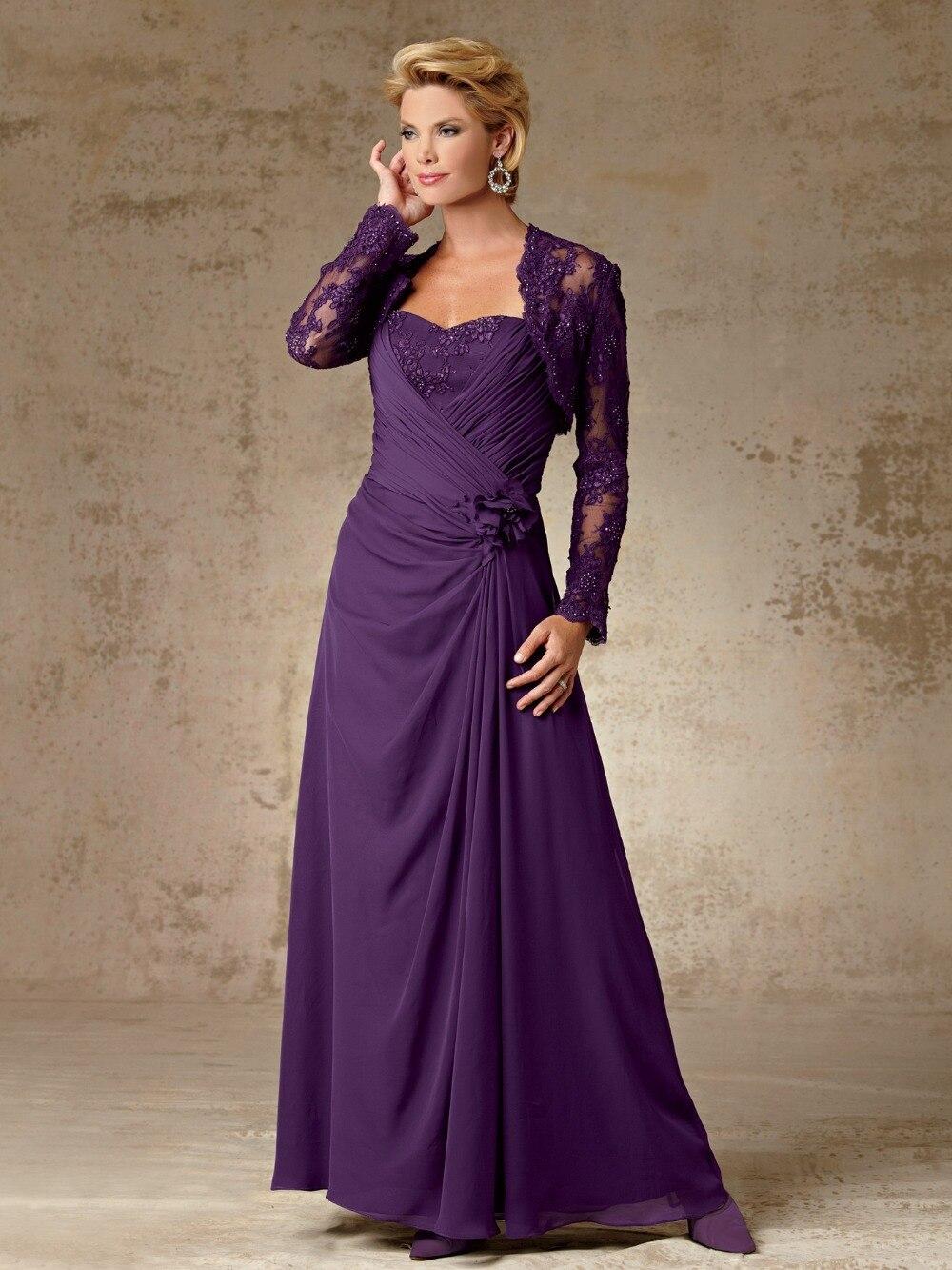 Wunderbar Kleid Und Bolero Jacke Für Die Mutter Der Braut Fotos ...