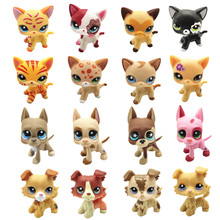 New LPS Pet Shop Toys Cute Short Hair Cat Collect Classic Cosplay Action Figure Children Holiday Best Gift