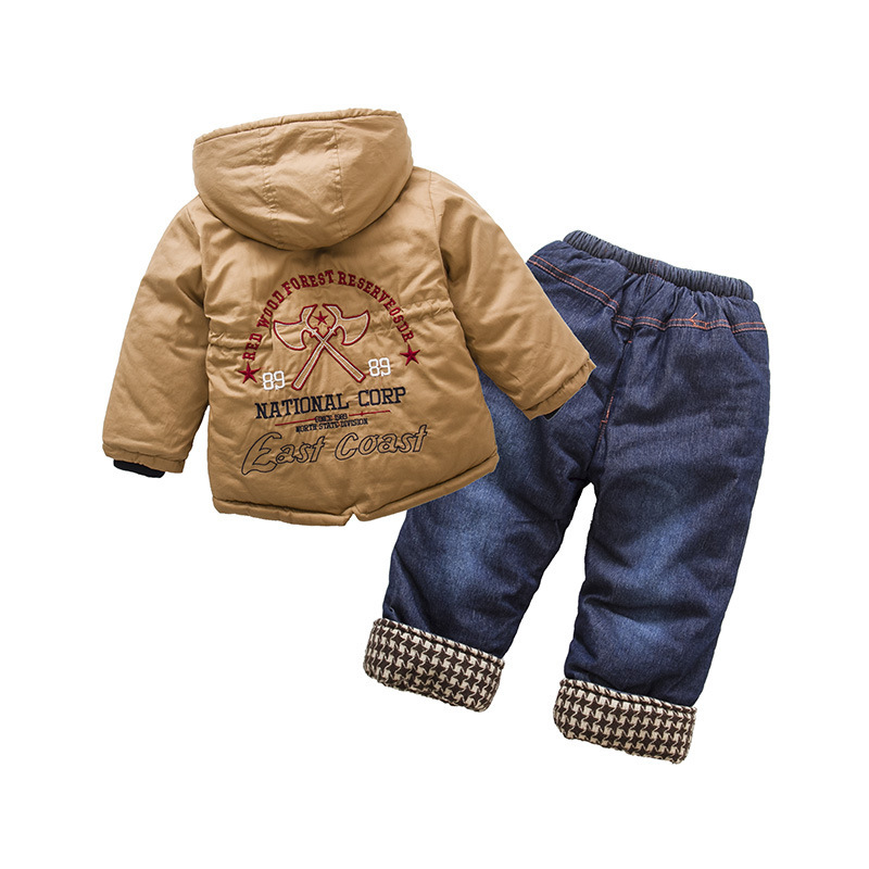 Anlencool-boys-cotton-suit-British-style-classic-lattice-models-baby-set-Padded-winter-clothes-suit-High-quality-baby-clothing-1