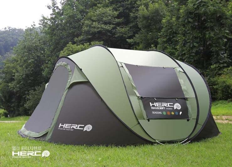 2017 nouvelle super automatique 5-6 personnes coréen marque bâtiment compte gratuit camping tente - 4