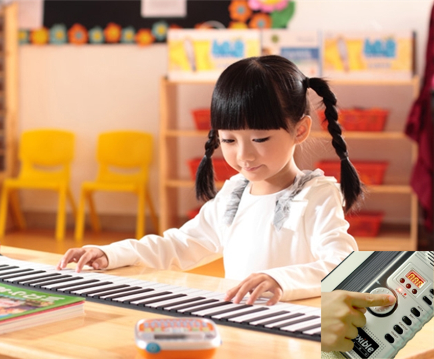 PianoRoll™ Portable Electronic Piano 1