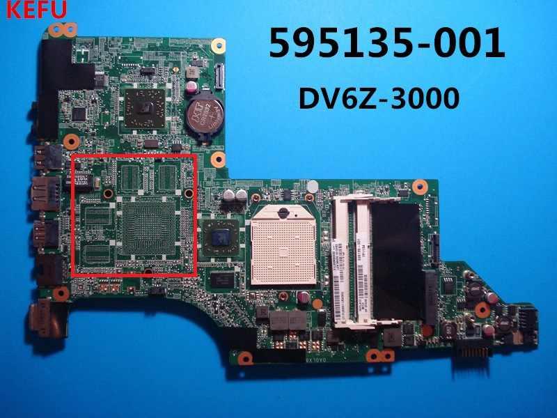 KEFU 595135-001 FOR HP DV6-3000 DV6Z-3000 NOTEBOOK PC Motherboard tested good