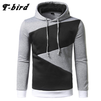 T Bird Brand Hoodies Men 2017 Male Long Sleeve Hoodie Hip Hop Pullover Sweatshirt Mens Moletom
