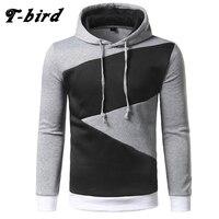 T Bird Brand Hoodies Men 2017 Male Long Sleeve Hoodie Hip Hop Pullover Sweatshirt Mens Moletom