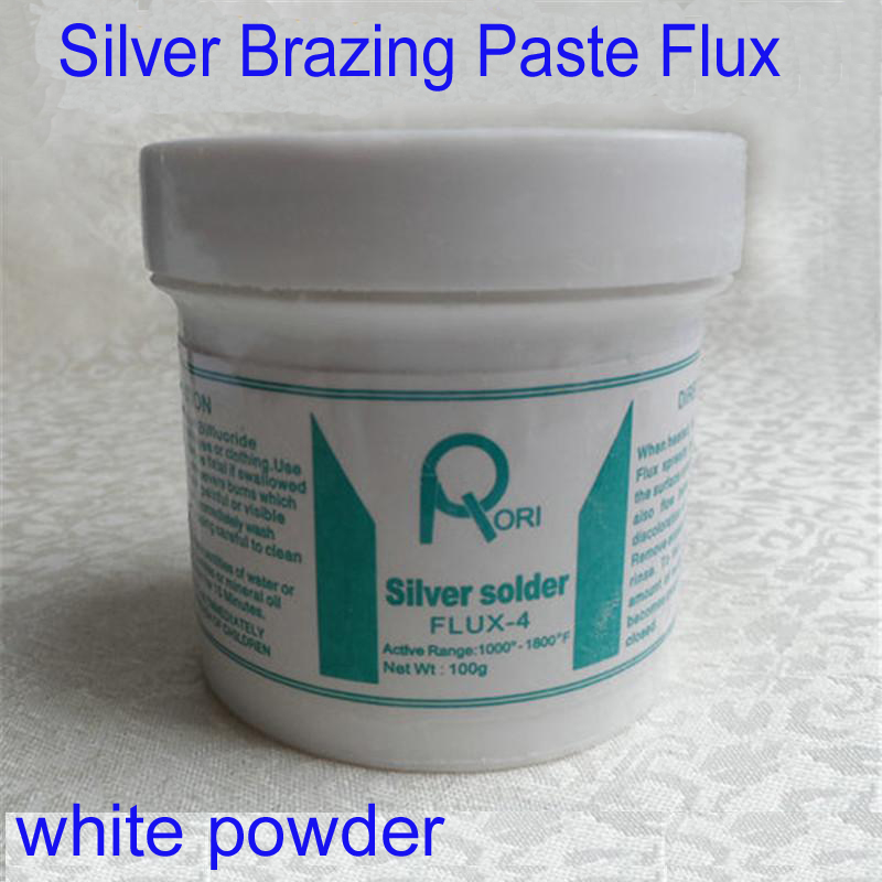 N.W 60g Soldering Paste Flux Silver Brass Brazing Fluxes welder Solder Powder Flux for welding copper aluminum alloy etc