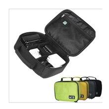 Здесь можно купить   Solid Color Portable Digital Accessories Gadget Devices Organizer USB Cable Charger Tote Case Storage Bag Travel Organizador  Travel Accessories
