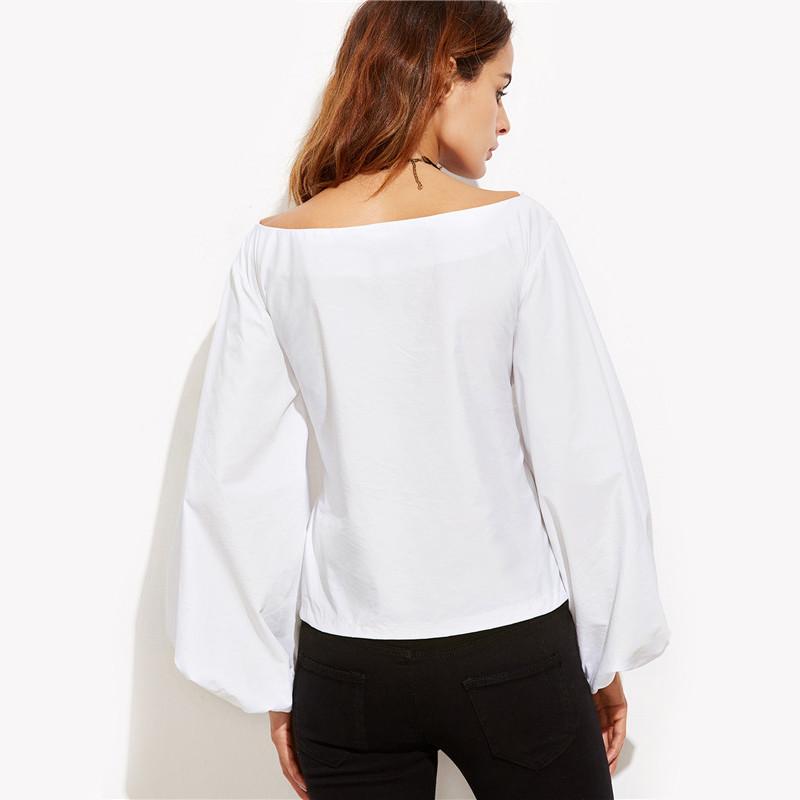 HTB1YWqlNVXXXXcZXVXXq6xXFXXXE - Shirts Women Tops Long Sleeve Lantern Sleeve Blouse