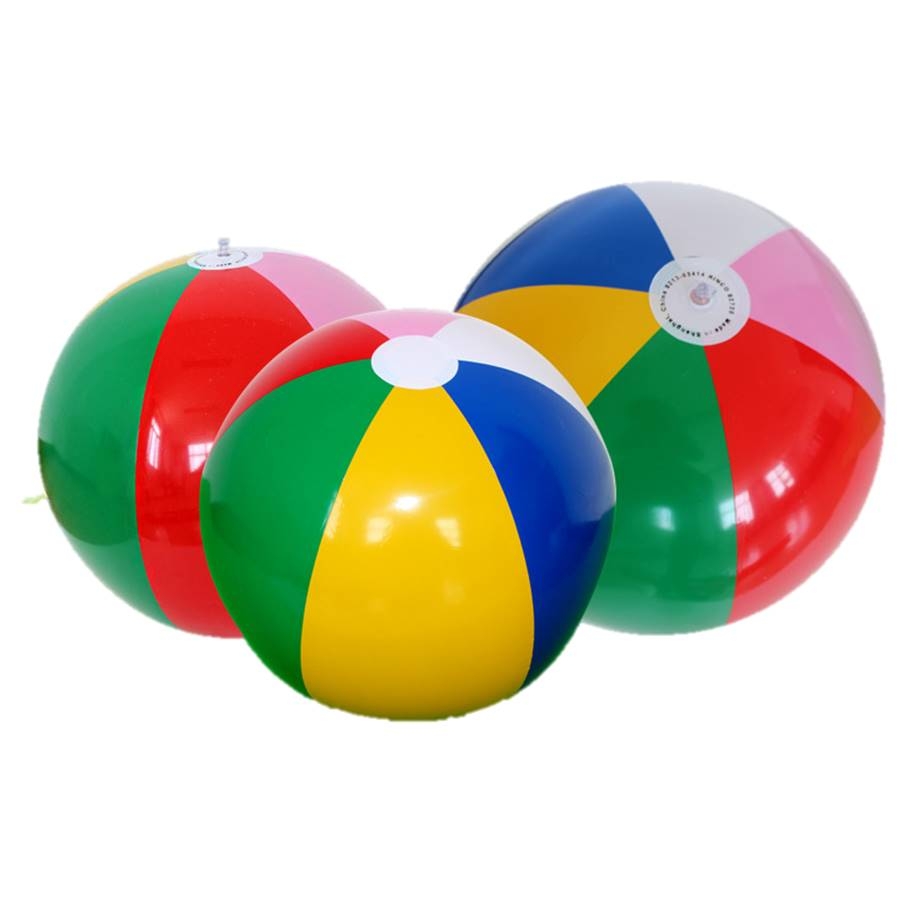 Super Big 40cm Inflatable Playing In The Water Ball  Beach Water Pool Game Ball Children Educational Soft Learning Summer Toys