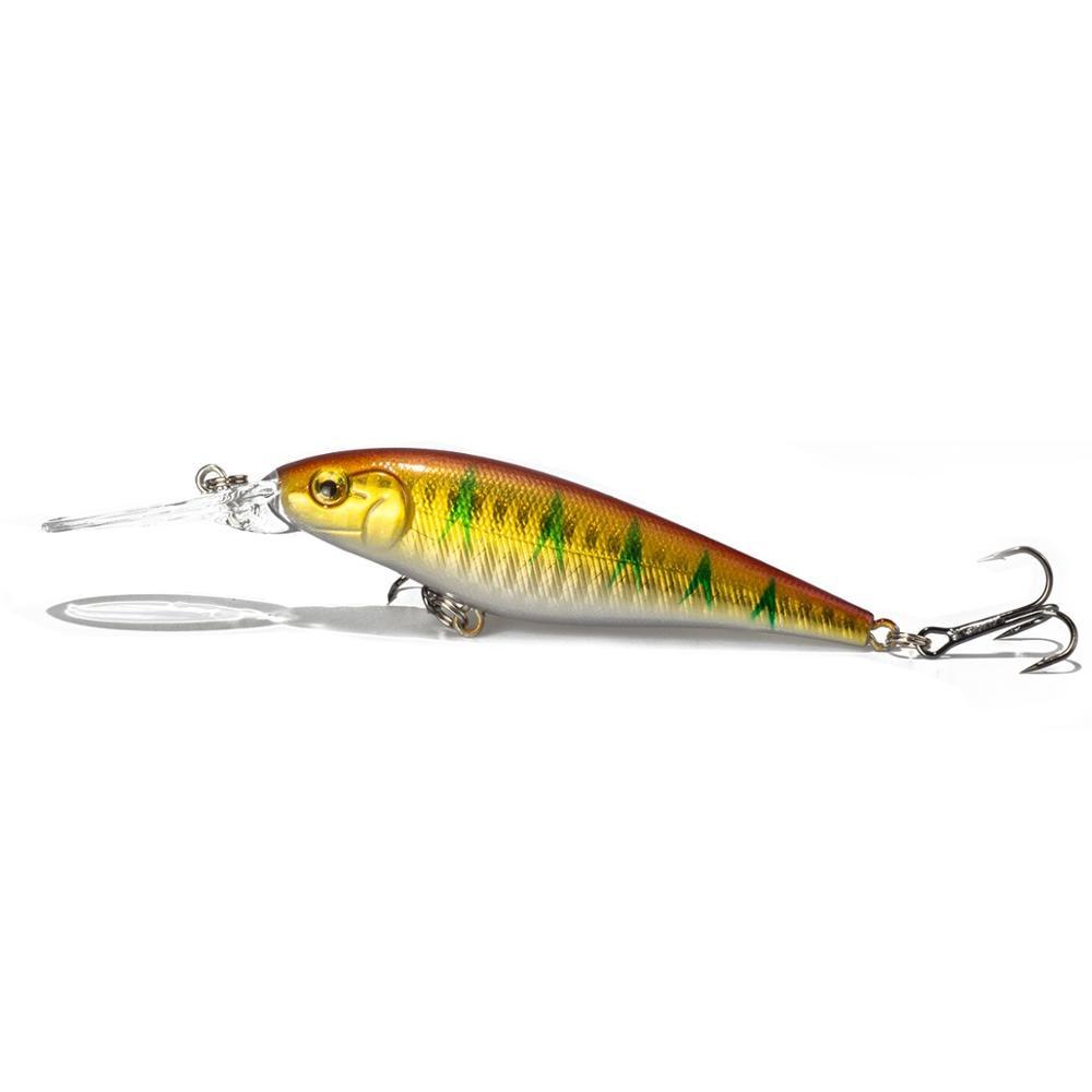 Sealurer рыболовная приманка 1 шт. приманка для щуки гольян 11 см 10,5 г Джеркбейт плавание на глубине воблеры кренкбейт - Цвет: A