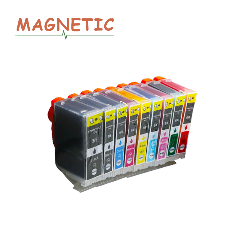 8 BCI-6 GENUINE CANON INKS for  iP8500 /& i9900