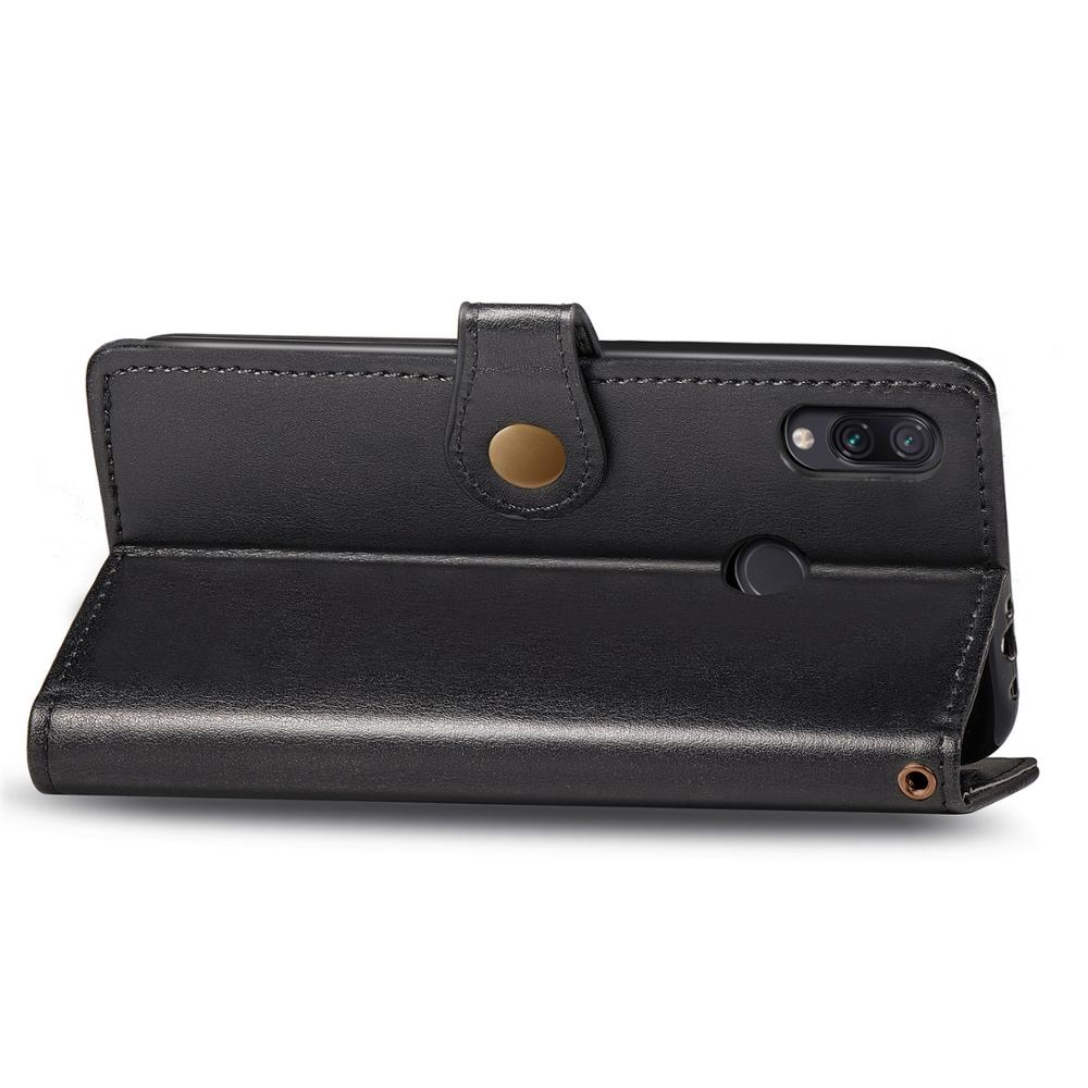 Retro flip PU leather phone case for Xiaomi Redmi 7 Pro note7 K20 for Xiaomi 9T Pro CC9e wallet cover With card slot in Flip Cases from Cellphones Telecommunications