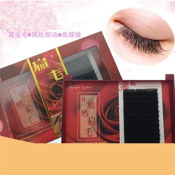 False Mink Eyelashes Extension Individual Natural Soft Lash Extension Professionals 3D Russia volume Silk Lash