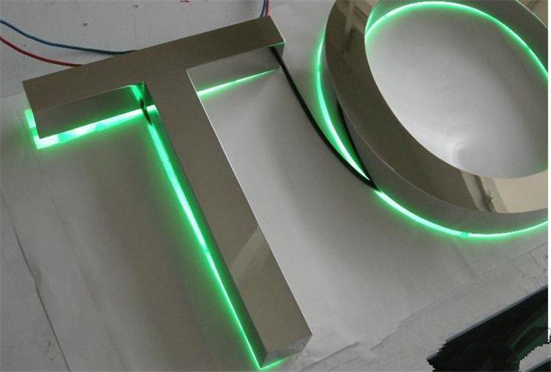 Factory Outlet Stainless Steel Channel Letter Sign For Store, Lit Channel Logo