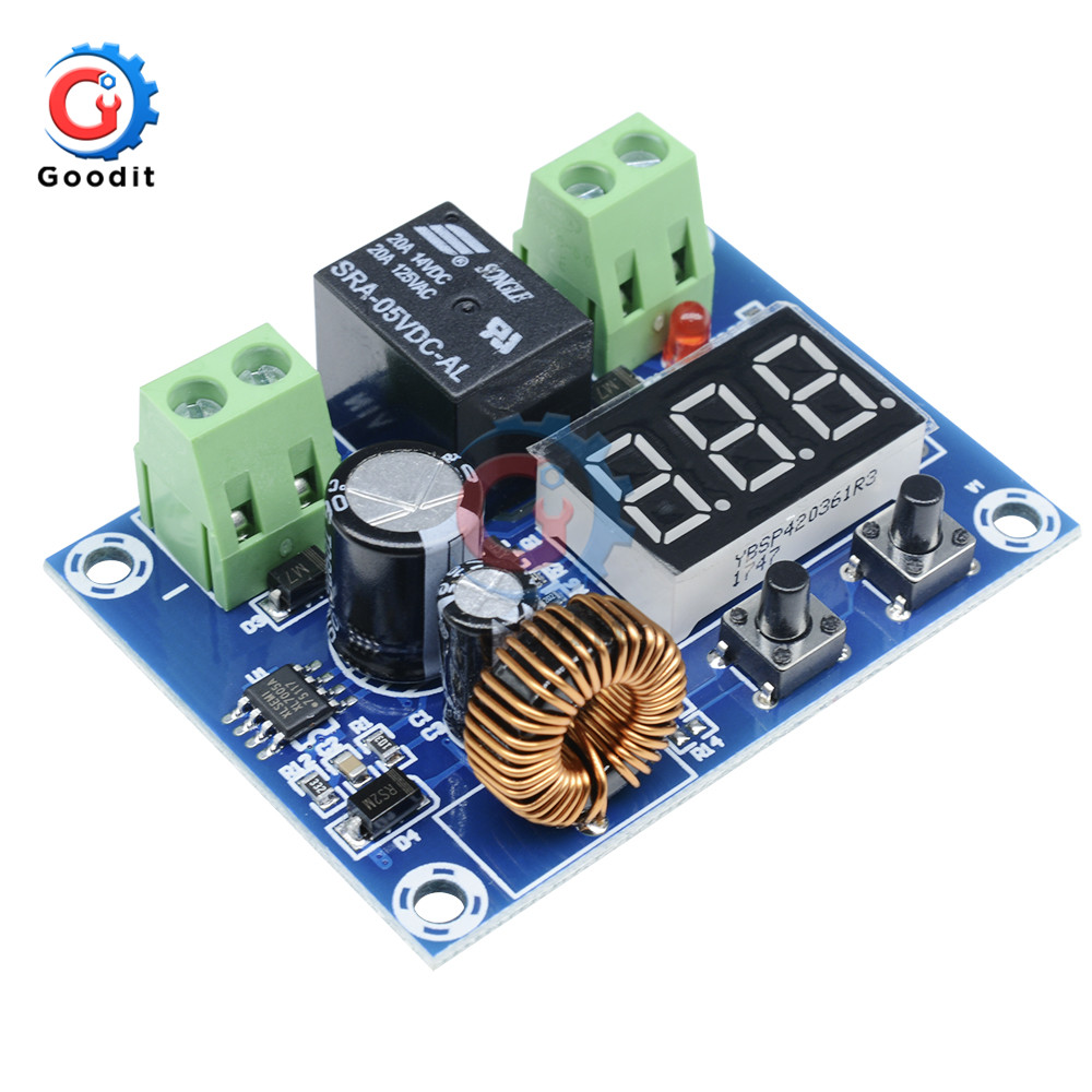 Xh-m609 Dc 12v-36v 24v Voltage Protection Module Low Voltage Overdischarge Battery Disconnect Protection Output 6-60v 6v-60v