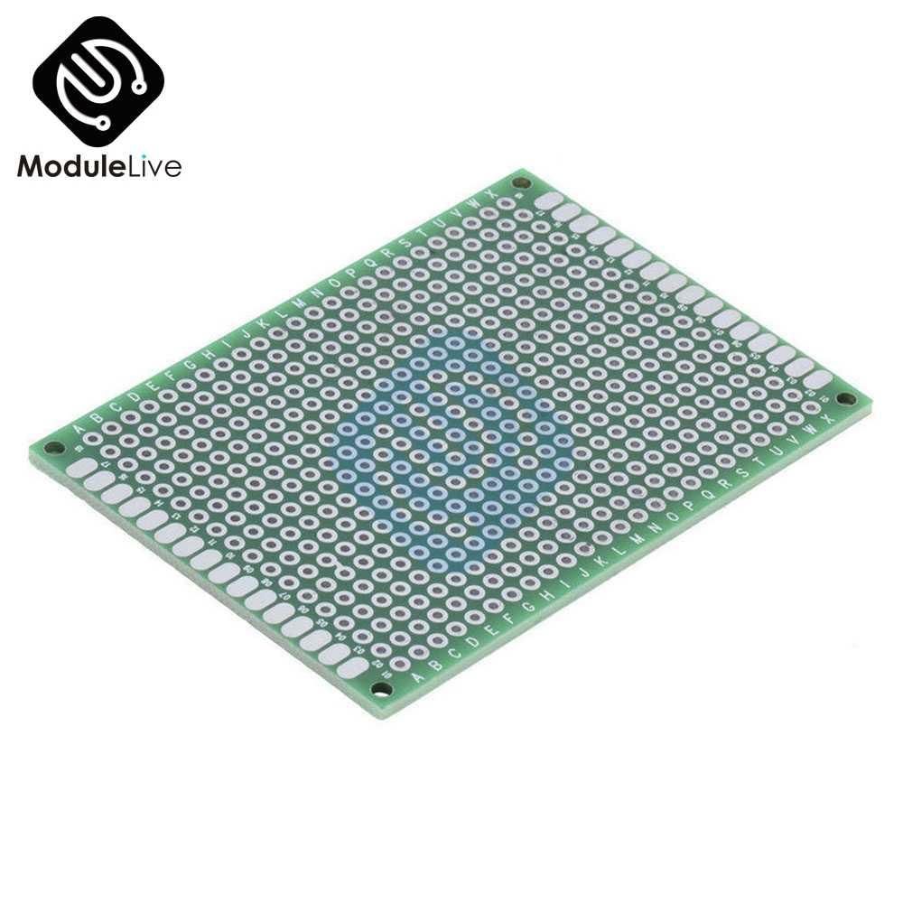 1 pièces Double côté Prototype PCB nned universel platine de prototypage 5x7 cm 50mm x 70mm
