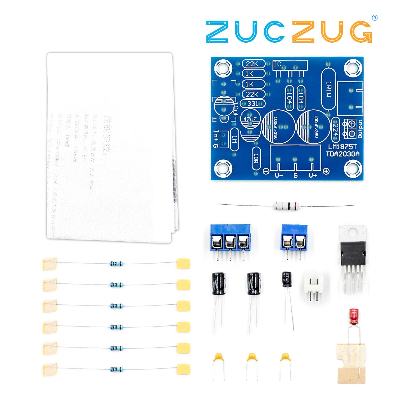 DIY Audio HIFI Amplifier Board Module Kit for LM1875T Audio Amplifier DIY