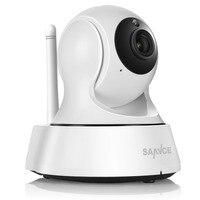 Sannceホームセキュリティipカメラwifi無線ミニネットワークカメラ監視wifi 720 pナイトビジョンcctvカメラベビーモニター