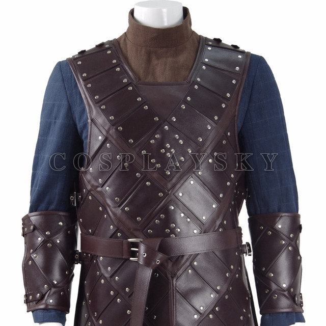 Jon Snow Stark Armor Costume