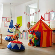 Children Tent Toy Tent For Kid Pink Blue Play House Outdoor/Indoor Fun Toys Castle Villa Foldable Play Tents Toys For Children(China)