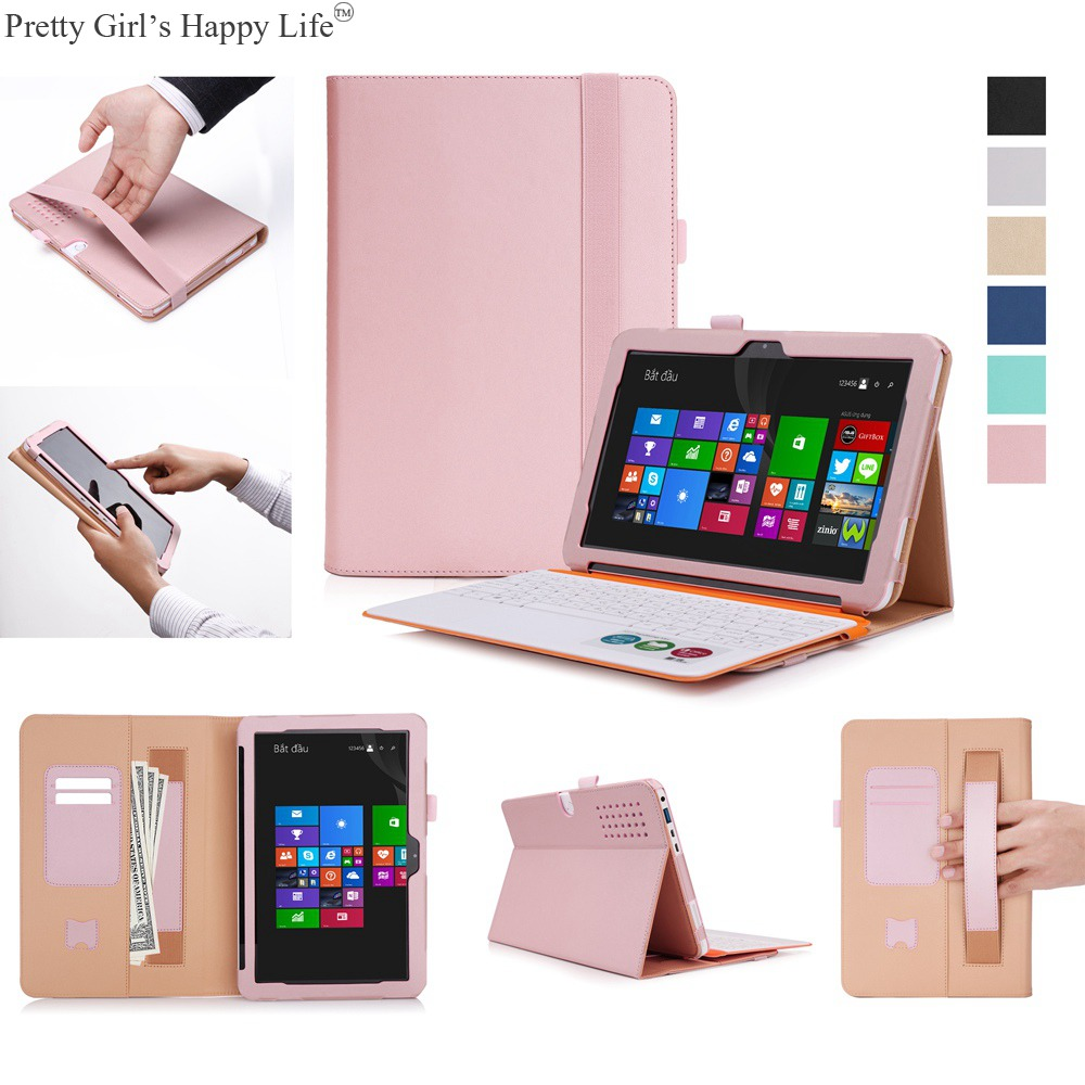 For ASUS Transformer Mini T102HA Tablet Case Flip Leather Cover ASUS Transformer Mini T102HA 10.1 Stand Cases Capa Funda+Stylus protective pu flip open case w stand stylus pen for asus transformer pad tf303cl white