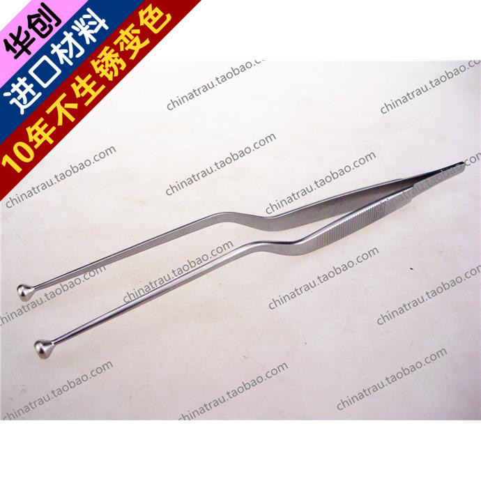 Medical orthopedics instrument spinal system titanium plate holding tweezers  round head tweezers medical tool