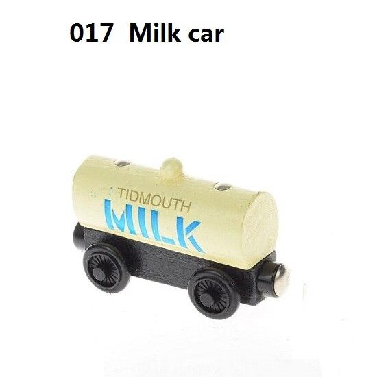 Деревянные магнитные паровозики, игрушки для железной дороги, деревянные паровозики для детей, подарок для детей, модель поезда - Цвет: Синий