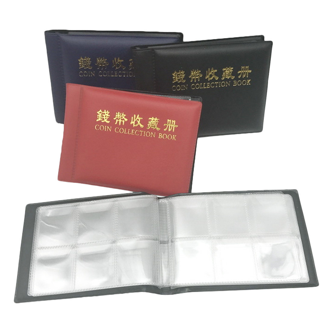 60 Pages Paper Money Coin Collection Album Holders Collection