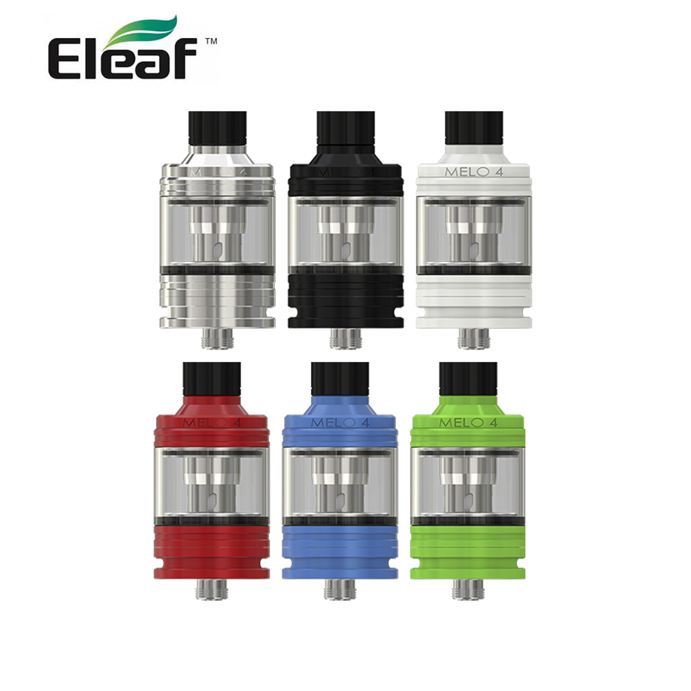 Original Eleaf Melo 4 Atomizer 4.5ml D25 0.3ohm/<font><b>0.5ohm</b></font> <font><b>EC2</b></font> Coil Head Eleaf ikuun I200 kit E cig atomizer tank image