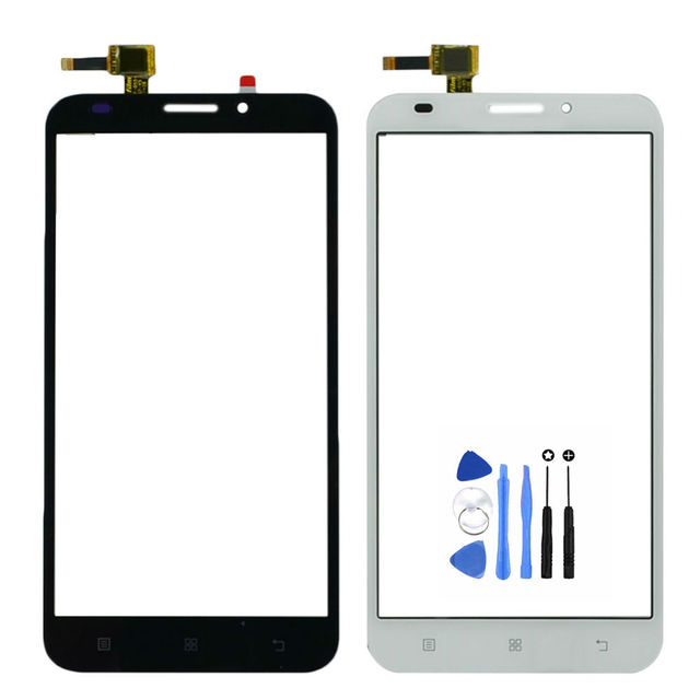 Vannego Free Shipping High Qulaity Screen For Lenovo A916 916 Touch Screen Digitizer Panel with Tools