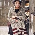 2016 Inverno Lenços Das Mulheres Marca de Luxo Cachecol de Caxemira Lenço para As Mulheres Das Senhoras da Manta Verificado Xales e Cachecóis Pashmina Echape