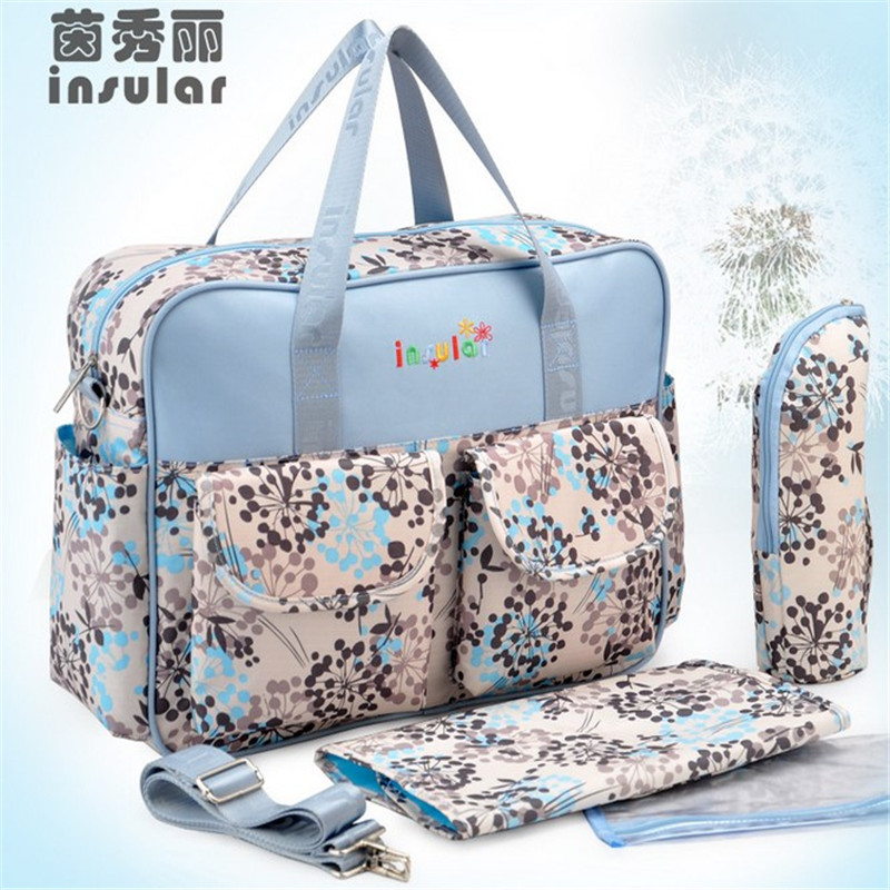 Insular (Buy 1 Gets 3) One Set Wholesale Mother Bags Baby Diaper Stroller Bags For Mom High Quality Bags Baby Free Shipping