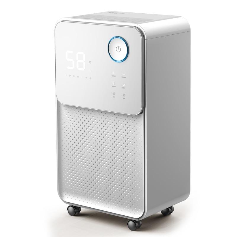 24L/D deshumidificador hogar dormitorio sótano alta potencia silenciosa máquina pantalla táctil purificador de aire secador humedad constante