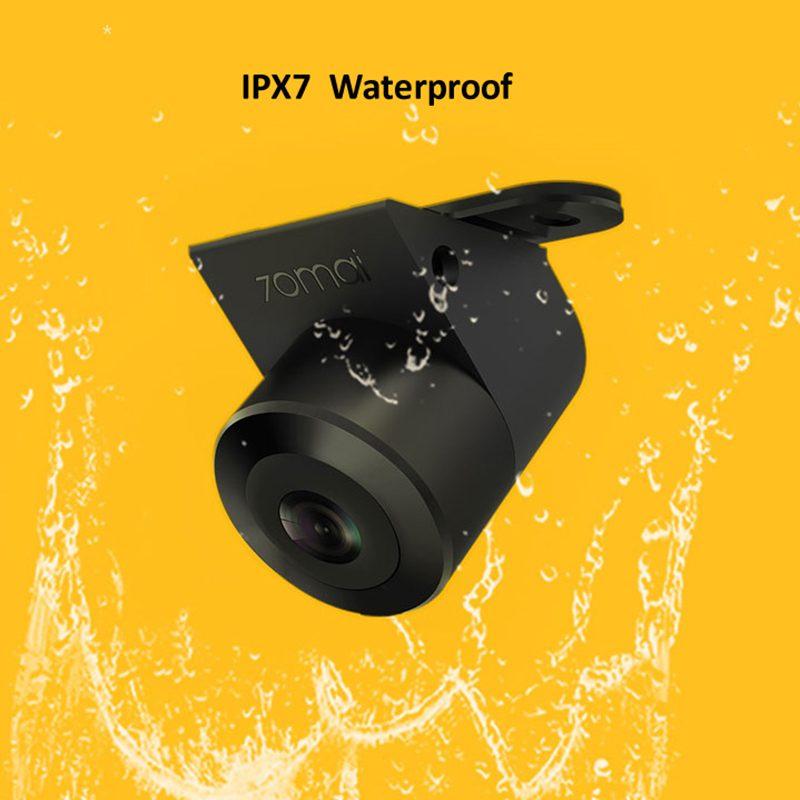 70 mai Автомобильная двойная запись 138 градусов 720P ночного видения IPX7 камера заднего вида для парковки автомобиля