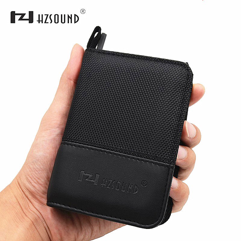 HZSOUND Newest Earphone Portable Bag Headphones Case Bag High grade fabric Bag Earphone Case Headphone Accessories Bag