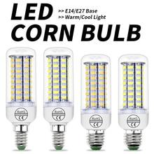 Ампульная Светодиодная лампа 220 В Светодиодная лампа E27 Bombillas светодиодный E14 энергосберегающий светильник для дома 3 Вт 5 Вт 7 Вт 12 Вт 15 Вт 18 Вт 20 Вт 25 Вт лампада 5730
