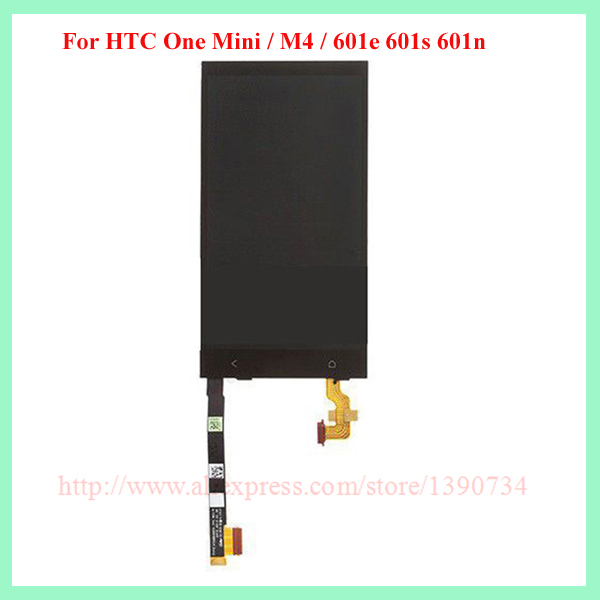 Top Quality Work Replacement LCD Display Touch Screen Digitizer Assembly For HTC One Mini / M4 / 601e 601s 601n with logo