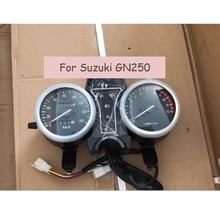 Для Suzuki GN250 Электрический Тахометр одометр инструмент мотоцикл Speedo Спидометр монтажный комплект спидометр датчик