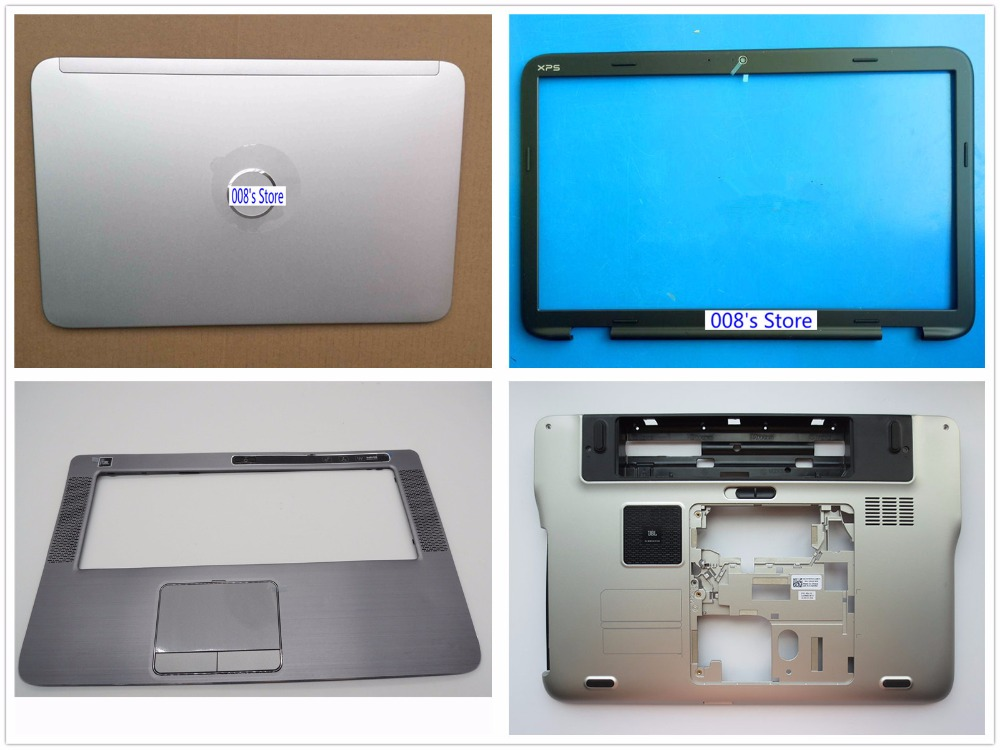 New Cover For Dell XPS 15 L501X L502X LCD LID Top Back/Front Bezel/Palmrest Upper/Bottom Case Lower